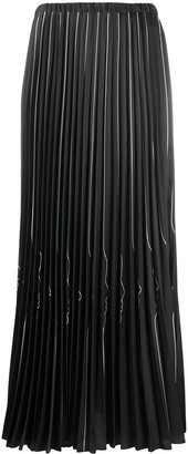 VIVETTA Face Profile Pleated Skirt