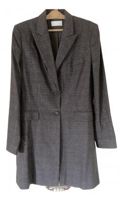 Nicole Farhi Anthracite Wool Coats