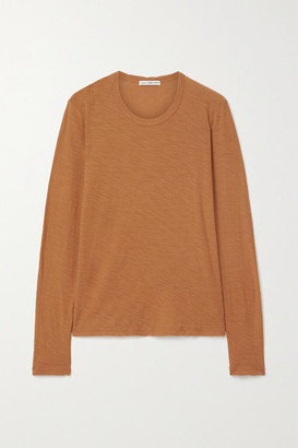 James Perse Slub Cotton-jersey Top - Tan