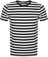 Ralph Lauren Stripe T Shirt Black