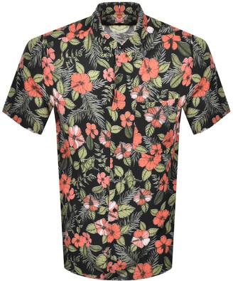 HUGO BOSS Ekilio Short Sleeve Shirt Black