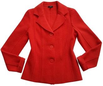 Hobbs Red Wool Jacket for Women