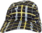 Kenzo Neon Plaid Caps