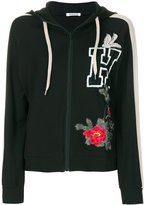 P.A.R.O.S.H. embellished zip-up hoodie