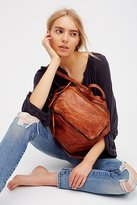 Free People Loved Leather Messenger