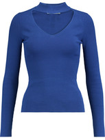 Autumn Cashmere Cutout Jersey Top