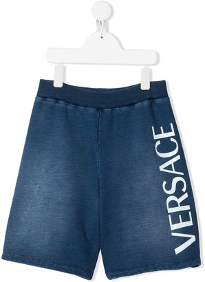 Versace Faded Track Shorts