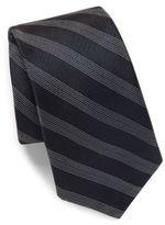 Theory Striped Silk Tie
