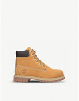 Thumbnail for your product : Timberland 6-Inch Premium waterproof leather boots 9-10 years