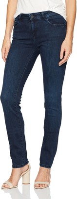DL1961 Women's Mara High Rise Straight Fit Ankle Jeans