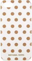 MICHAEL Michael Kors Glitter polka dot iPhone 7 case