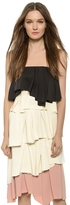 Cédric Charlier Strapless Top