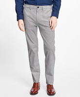 Brooks Brothers Glen Plaid Stretch Chinos