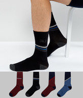 Jack and Jones Socks 4 Pack Pattern