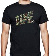 A Bathing Ape bape army vr for 2X-Large Black men T shirt