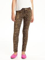Old Navy Cheetah-Print Jeggings for Girls