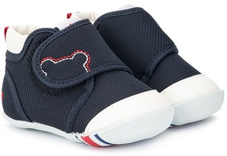 Mikihouse Touch-Strap Shoes