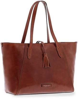 The Bridge Florentin Genuine Leather Tote Bag