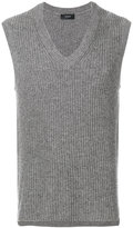 Joseph sleeveless v-neck sweater