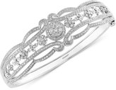 Effy Bouquet by Diamond Bangle in 14k White Gold (2 ct. t.w.)