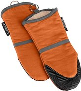Cuisinart Oven Mitt with Non-Slip Silicone Grip, Heat Resistant to 500° F, Rust, 2-Pack