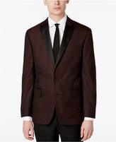 Ryan Seacrest Distinction Men's Slim-Fit Burgundy Brocade Dinner Jacket, Only at Macy's