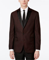Ryan Seacrest Distinction Ryan Seacrest DistinctionTM Men's Slim-Fit Burgundy Brocade Dinner Jacket, Created for Macy's
