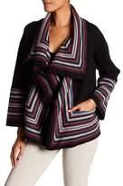 Joie Dagna Wool Striped Cardigan