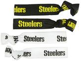 Aminco Pittsburgh Steelers Elastic Hair Tie Set