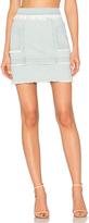 Nicholas Denim Paneled Skirt