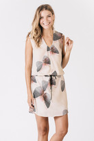 Karen Zambos James Dress in Butterfly