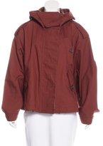 Burberry Hooded Oversize Jacket