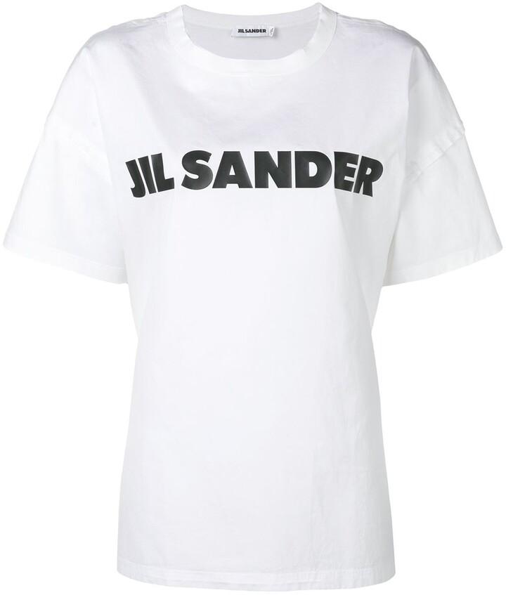 Jil Sander (ジル サンダー) - Jil Sander ロゴ Tシャツ