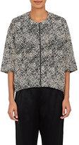 Zero Maria Cornejo Women's Taia Cotton-Blend Crop Jacket-BLACK, NO COLOR