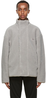 Han Kjobenhavn Grey Track Fleece Jacket