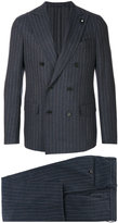 Lardini striped two piece suit