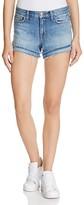 J Brand Sachi Denim Cutoff Shorts in Bleached Wrecked