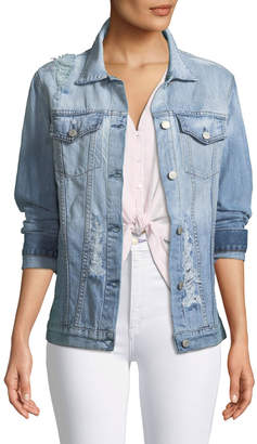 Rails Knox Distressed Denim Jacket