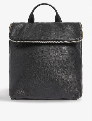 Whistles Verity leather mini backpack