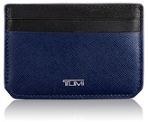 Tumi Men's 'Mason' Leather Money Clip Card Case - Black