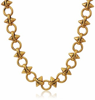 Alex and Ani Spear and Circle Chain 20 in.Magnetic Necklace RG