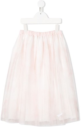 Christian Dior Mesh Flared Skirt