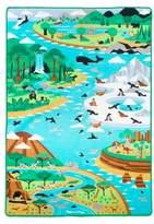 """Melissa & Doug Jumbo Habitats Activity Rug58 x 79"""""""