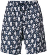 Dolce & Gabbana geisha print swimming trunks