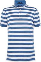 Rlx Ralph Lauren - Striped Stretch-piqué Polo Shirt