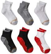 Gold Toe Goldtoe Boys GOLDTOE 6-pk. Ultra Tec Quarter-Crew Socks