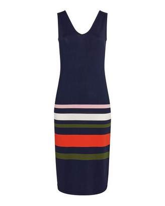 Ted Baker Marpee Stripe Detail Knitted Midi Dress