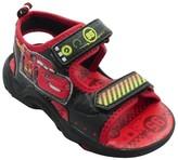 Cars Toddler Boys' Disney Light Up Sandals - Red