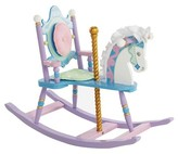 Levels of Discovery Carousel Rocking Horse - Purple
