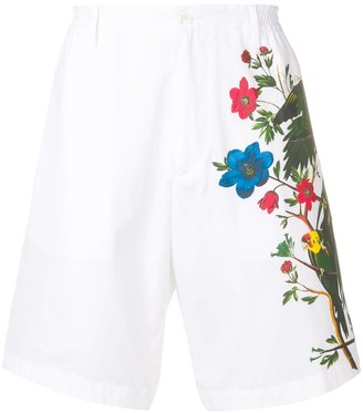 DSQUARED2 floral effect shorts